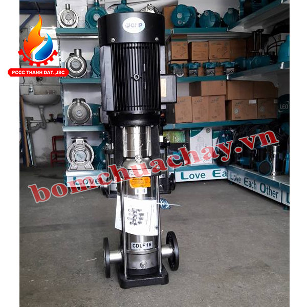 Máy bơm bù áp CNP CDLF16-4 5.5HP