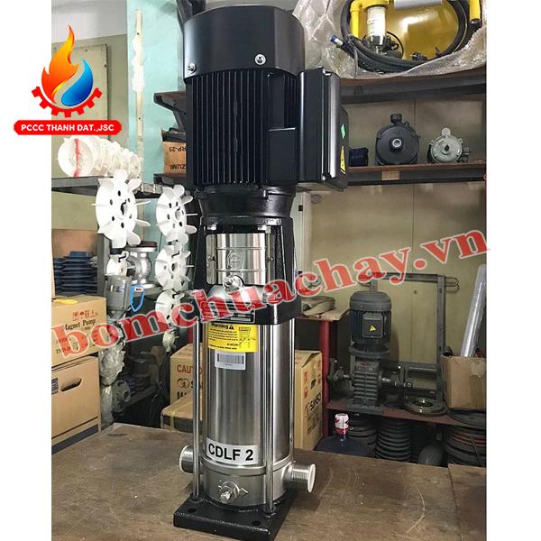 Máy bơm bù áp CNP CDLF2-11 1.5 HP