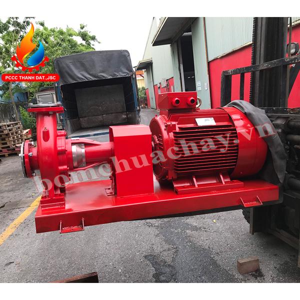 máy bơm chữa cháy inter ca150-400 125hp