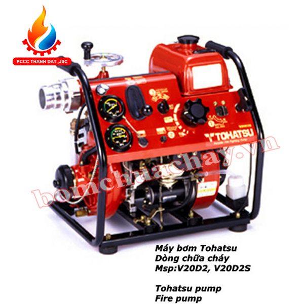 Máy bơm cứu hỏa Tohatsu V20D2S