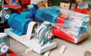 Cách vận hành máy bơm chữa cháy Ebara
