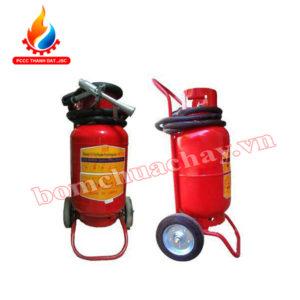 Bình chữa cháy bột MFTZ/ MFTZL- 35 dạng xe đẩy