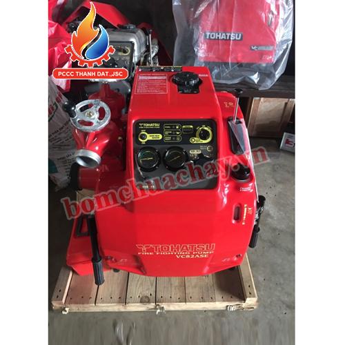 Cách sử dụng máy bơm chữa cháy Tohatsu V82