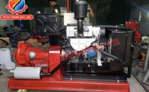 Ưu điểm của máy bơm chữa cháy diesel